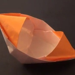 종이배 접기