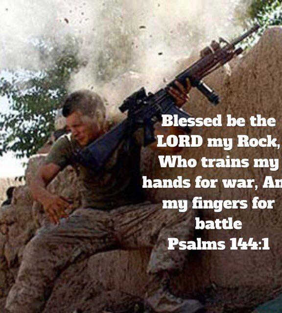 시편 144: 싸우는 방법